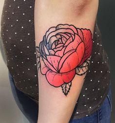 Gennaro Varriale flower tattoo