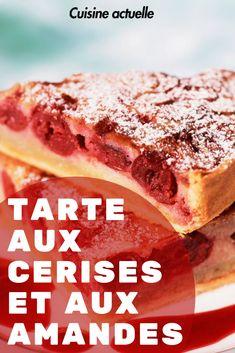 Cherry and almond tart - Bouffe - Pistachio Torte Recipe, Strawberry Torte Recipe, Blueberry Torte, Lemon Torte, Apple Torte, Raspberry Torte, Irish Recipes, Tart Recipes, Easy Cake Recipes