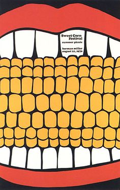 Found atREFERENCE LIBRARY: Poster for a Company Picnic 1970. Herman Miller, 1970.