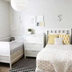 Shared girls closet / toddler and baby. Shared girls closet / toddler and baby - Kids Room Ideas. Shared girls closet / toddler and baby