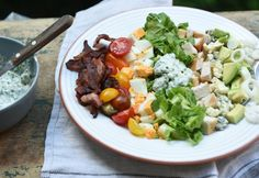 15 nagyon nyári recept maximum 15 perc alatt   NOSALTY My Recipes, Cobb Salad, Bacon, Good Food, Food And Drink, Beef, Awesome, Salads, Meat