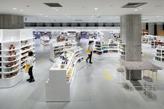 Completed in 2017 in Minato-ku, Japan. Images by Nacasa & Partners. We designed a new Ginza flagship for LOFT, a household goods specialty store. Our aim was to design interior spaces where customers feel like staying...