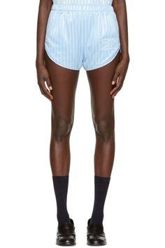 Martine Rose - Blue Running Shorts