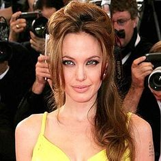 Angelina Jolie Prom Updo Hairstyle- Hairstyles, Easy Hairstyles For Girls Angelina Jolie Nose Job, Angelina Jolie Wedding, Down Hairstyles, Easy Hairstyles, Girl Hairstyles, Pageant Hairstyles, Female Hairstyles, Gorgeous Hairstyles, Half Up Half Down Hair