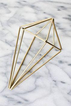 DIY himmeli diamond tutorial