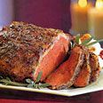 Roast with garlic herb crust.  Had this for Christmas dinner and it was amazing!