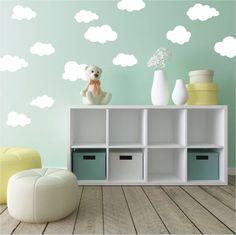babyzimmer dekoration balloons wolken dekoration selber machen ... | {Babyzimmer dekoration 92}