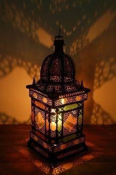 Moroccan Glass Lamp  moroccanbazaar.co.uk