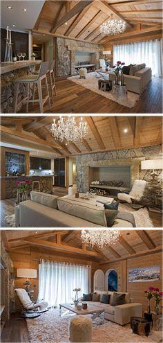 Sala de Estar Casa en Suiza