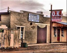 The OK Corral, Tombstone, Arizona