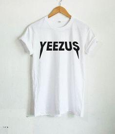 74c8e474f3c YEEZUS Shirt Kanye West T-shirt Tour Hip Hop Rap Men Womens Swag Shirt  harajuku Style camisetas hip hop Men Casuals T Shirt
