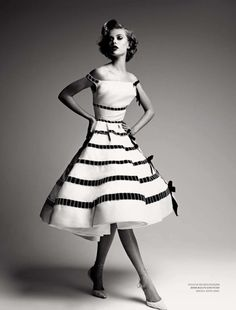 suicideblonde:  Frida Gustavvson in Dior photographed by Patrick Demarchelier