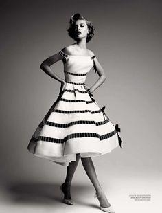 suicideblonde:  Frida Gustavvson in Dior photographed by Patrick Demarchelier