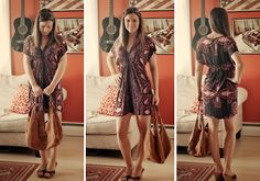 Faith's Twenty Minute Dress Free Sewing Tutorial /// By Design Fixation