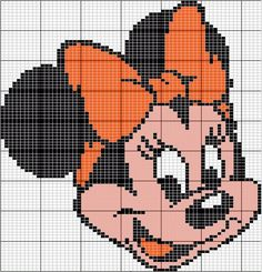 Minnie Mouse HAMA beads kralen
