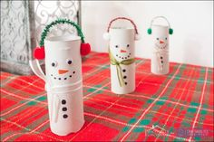 toilet paper roll christmas crafts for kids
