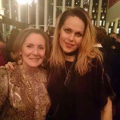 With Ann Ziff after the premiere of Manon Lescaut at The Metropolitan Opera. Amazing woman!!! #metopera #kristineopolais @metopera