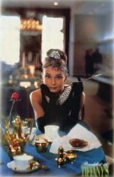 #Breakfast At #Tiffany's #movieposter [Audrey #Hepburn / Table] 24'' X 36'' Only $5.94