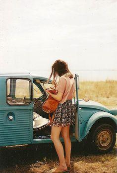 TAKE A LONG TRIP IN A CAR