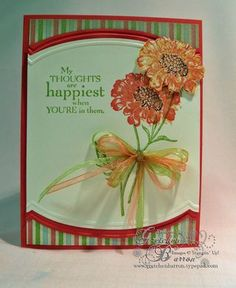 Poppies, I for once have all the products for this card.  Usually my cards, my husband jokes, cost me 50 or more dollars to make, lol!!