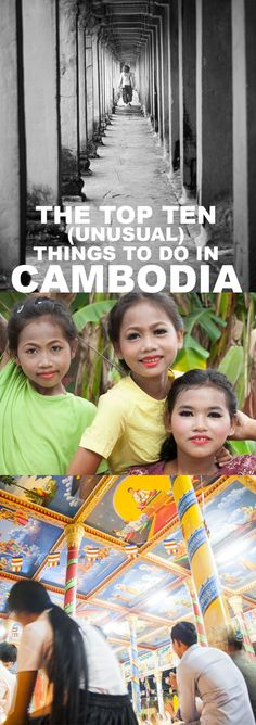 The best things to do in #Cambodia with a twist