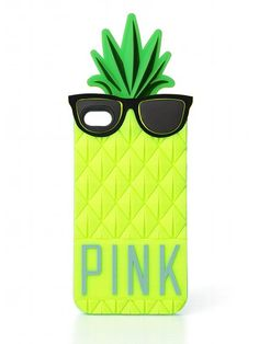 PINK Pineapple iPhone® Case #VictoriasSecret http://www.victoriassecret.com/pink/bags-and-accessories/pineapple-iphone-case-pink?ProductID=109200=OLS?cm_mmc=pinterest-_-product-_-x-_-x