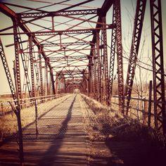 Old Cedar Ave bridge. iPhone photo.
