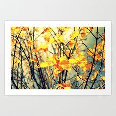 Autumn Light Art Print by Annie Japaud   - $18.72
