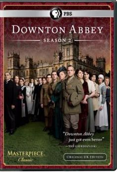 Donwton Abbey has been nominated for a 2013 Golden Globe. Catch up with the second season!