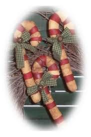 primitive candy canes - Google Search