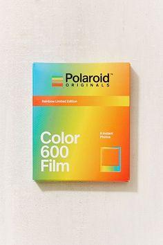 Slide View: Polaroid Originals X UO Limited Edition Rainbow Frame 600 Instant Film Instax Wide Film, Instax Film, Polaroid Camera Film, Polaroid Photos, 600 Film, Photo Printer, Photo B, Photography Camera, Fujifilm Instax Mini