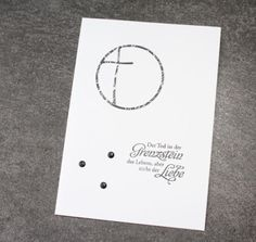 Herzschlüssel: Trauerkarten 3, Trauerkarte, Stampin Up, Erlebniswelt, Alexandra Renke, Big Shot, #DIY