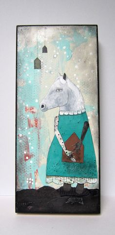 Acrylic Painting by Sarah Ogren