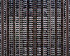 The Architecture Of Density - Hong Kong Amazing series of photo's, 'The Architecture Of Density' by Michael Wolf. A different view on Hong K. Hong Kong Architecture, Amazing Architecture, Urban Architecture, Building Architecture, Michael Wolf, High Rise Apartments, City Apartments, Wolf Photography, Hongkong