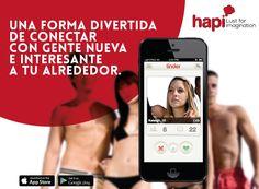 #HapiApps Una forma divertida de conectar con gente nueva e interesante a tu alrededor. Descargala y busca alguien para este viernes!