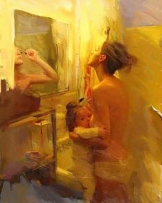 Everyday life painting