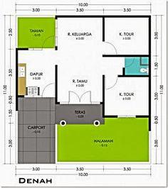 61 Trendy Home Studio Architecture Building Guest House Plans, Small House Floor Plans, Dream House Plans, Home Room Design, Home Design Plans, Type 45, 20x40 House Plans, Building A Small House, Studios Architecture