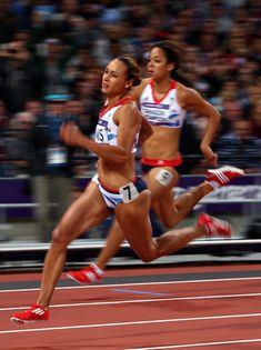 Athletic Body, Athletic Women, Zumba, Katarina Johnson Thompson, Jessica Ennis, Heptathlon, Female Athletes, Women Athletes, Athletic Events