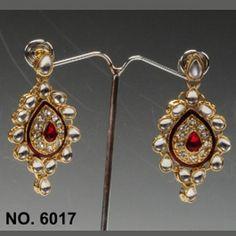 Kundan Earring By Swarajshop