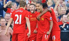 Liverpool marked the opening of their new Main Stand with a comprehensive victory over Premier League title holders Leicester City at Anfield on Saturday evening. One Team, Liverpool Fc, Leicester, Premier League, Victorious, Maine, Soccer, News, Fashion