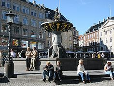 The Gammeltorv is the oldest square in Copenhagen, and one of the busiest! It is situated along the length of Strøget, the shopping street, and separates Gammeltorv from Nytorv