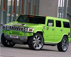 #Hummer #GREEN ~ I NEEEEEED this, and it matches my kitchen!!!