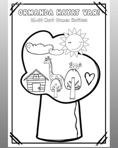 Preschool Workbooks, Preschool Activities, Mobiles, String Art, Worksheets, Coloring Pages, Crafts For Kids, Balloons, Projects To Try