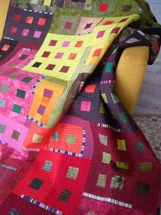 Scrappy Quilt Patterns, Patchwork Blanket, Scrappy Quilts, Easy Quilts, Mini Quilts, Quilting Projects, Quilting Designs, Quilt Design, Patchwork Designs