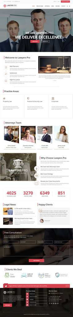 Lawyer Pro is Premium full Responsive #Parallax #WordPress #Lawyer Theme. Retina Ready. Visual Composer. Bootstrap 3 Framework. Test free demo at: http://www.responsivemiracle.com/lawyer-pro-premium-responsive-wordpress-theme-for-lawyers/
