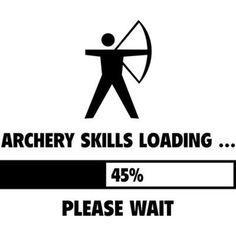 Archery Skills Loading Sticker (Oval)