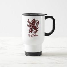 Harry Potter | Gryffindor Lion Graphic Travel Mug