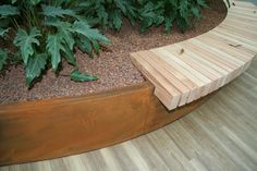 Corten tree island by abk-outdoor.com