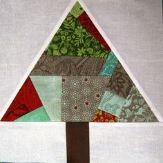 Happy Quilting: Paper Pieced Improv Trees & O Christmas Trees Tuto.this is super cute ,check out quilt layout! Free Baby Quilt Patterns, Paper Piecing Patterns, Tree Patterns, Quilt Block Patterns, Quilt Blocks, Christmas Tree Quilt, Christmas Tree Pattern, Christmas Sewing, Christmas Quilting