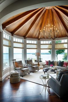 Make the sunroom an extension of your interior